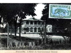 Brazzaville L'Hotel du Gouvernement General