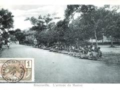 Brazzaville L'arrivee du Manioc