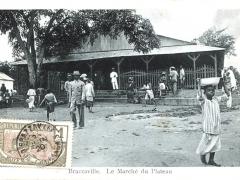 Brazzaville Le Marche du Plateau