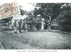 Brazzaville Le service municipal de la voirie