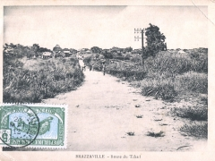 Brazzaville Route du Tchad
