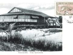 Brazzaville Une factorerie