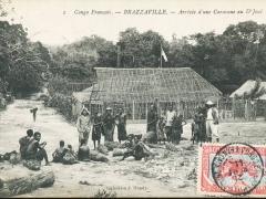 Brazzaville Arrivee d'une Carawane au D'Joue
