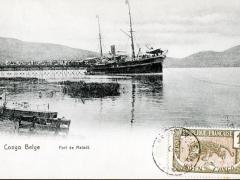 Port de Maladi Congo Belge