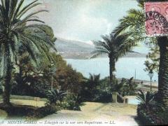 Echappee sur la mer vers Roquebrune