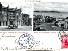 Auckland Grand Hotel Princess St Auckland Harbour