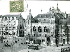 Amsterdam Leidscheplein Stadschouwburg en American Hotel