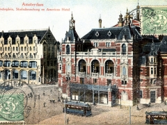 Amsterdam Leidscheplein Stadtschouwburg en American Hotel