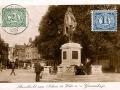 's Gravenhage Standbeeld vn Johan de Witt