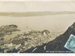 Bergen Utsigt fra Floiveien