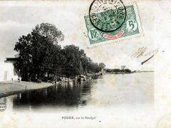Podor sur le Senegal