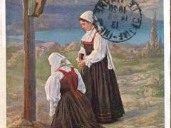 Bäuerinnen aus Vinodol Trachten