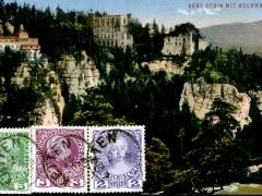 Berg Oybin mit Hochwald