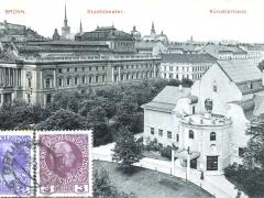 Brünn Stadttheater Künstlerhaus