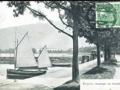 Bregenz Seeanlagen mit Gondelhafen