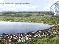 Bregenz am Bodensee vom Gebhardsberg Vorarlberg