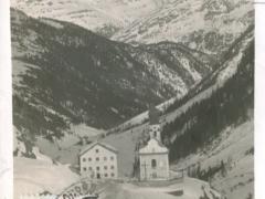 Heilig Kreuz im Venter Tal Blick auf den Sulztalkamm