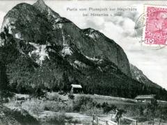 Hinterriss Tirol Partie vom Plumsjoch zur Hagelhütte
