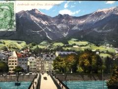 Innbrücke mit Frau Hitt Gebirge