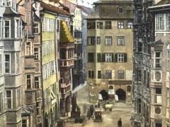 Innsbruck Altstadt mit goldenem Dachl