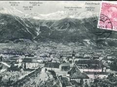 Innsbruck Brandjoch Sattelspitzen Frau Hitt Seegrubenspitzen Hafelekar
