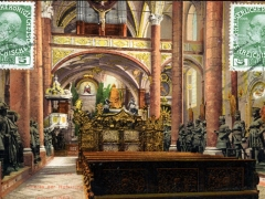 Innsbruck Inneres der Hofkirche