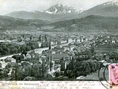 Innsbruck mit Serlesspitze