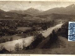 Innsbruck n Süden Blick von der Weiherburg