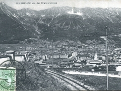 Innsbruck von der Brennerstrasse