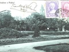 Pozdrav z Prahy