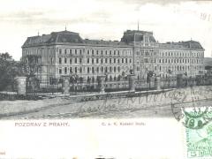 Pozdrav z Prahy C a Kadetni skola