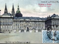 Pozdrav z Prahy Pruceli kral hradu