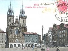 Prag Altstädter Ring u Teinkirche