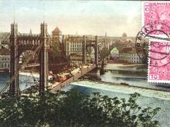 Prag die Franz Josefs-Brücke