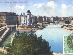 Wien Blick auf Franz Josefs Kai