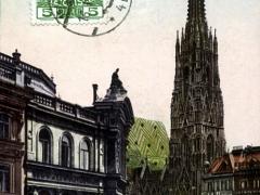 Wien Blick auf den Stefansplatz