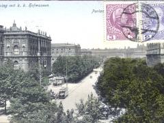 Wien Burgring mit k k Hofmuseen