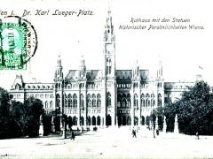 Wien I Dr Karl Lueger Platz Rathaus