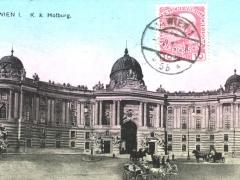 Wien I K K Hofburg