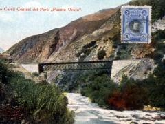Ferro Carril Central del Peru Puente Ucuta