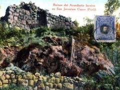 Ruines del Acueducto Incaico en San Jeronimo Cuzco