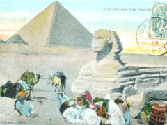 The Sphinx and Pyramide