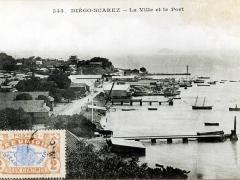 Diege Suarez La Ville et le Port