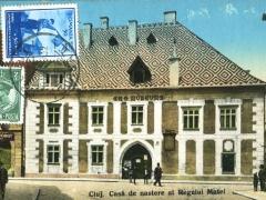 Cluj Casa de nastere al Regelui Matei