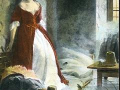 Künstlerkarte Frau