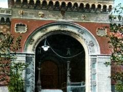 Odessa Batiment de la Bourse Entree principale