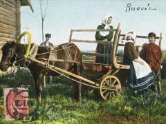 Pferdewagen Bauern