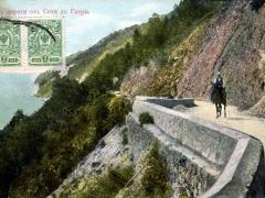 Vue du chemin Sotchi Gagry