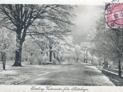Göteborg Vintermotiv fran Slottskogen