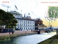 Jönköping Hamnkanalen och Stora Hotellet
